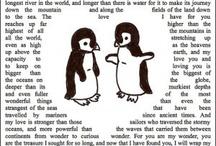 Penguins / by Karin Elke