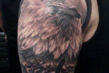 águia tattoo