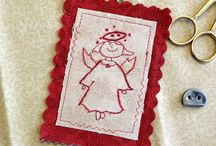 Christmas / by Country Garden Stitchery