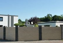 Geradliniges Mauersystem Trend-Line / Für Puristen und alle, die Lifestyle lieben und moderne Gestaltungen im Hause und Garten.  WESERWABEN Mauersystem Trend-Line ein modernes und innovatis Mauer-System in einer geradlinigen, klaren Linie. Die gestrahlten Oberflächen funkeln in der Sonne und sorgen für einen brillanten Rahmen Ihres Grundstücks.