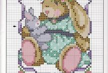 Cross Stitch-Easter