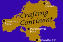 Crafting Continent / Crafting Continent holds the cities with ideas on Cross Stitch, Plastic Canvas, Embroidery, and Kids crafts