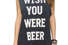 Beer shirts / As it says