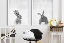 Nursery Ideas / A collection of ideas and images for your baby's room/nursery