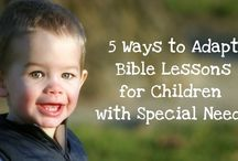 Special needs ministry / by Billy Redd