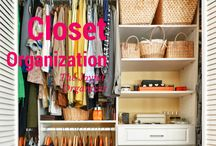 { Closet organization }