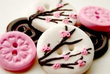 porcelaine froide boutons
