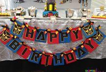 Boy Birthdays / by Sherika Eskridge