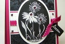 Cards Magenta stamps / by Aletta Heij