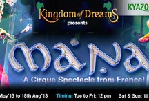 KyaZoonga.com: Buy tickets online for Mana at Kingdom of Dreams