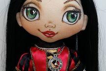 Лица кукольные