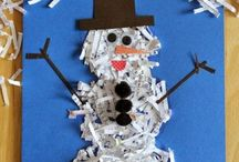 winter crafts-χειμωνιάτικες κατασκευες