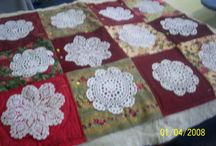 Quilts with Doileys