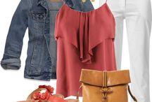 My spring and summer wardrobe style. / by Brenda Prado
