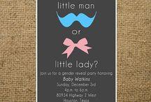 Baby Gender Reveal / by Cindy Meid