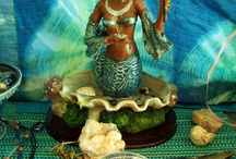 Yemaya Altars / Altars for the Mother of Unconditional Love.