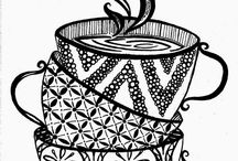 Zentangles / zentangle, plantillas, patrones, Zen