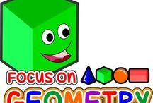 Geometry / Focus On Geometry - Geometry Games & Activities Bundle