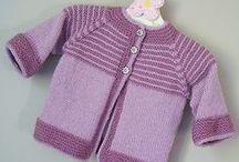 Garter free baby jacket