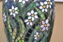 bloempot mozaiek
