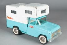 Truck Camper Toys / A collection of truck camper toys, miniatures and models