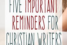 Tips for Christian writers