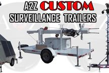 Modular Mobile Surveillance Trailers / A2Z MMST series Surveillance Trailers are industry leading solutions offering rapid, mobile deployment of highly advanced safety, security and surveillance systems.