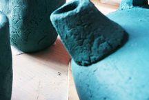 Il mio laboratorio / Come realizzo i miei oggetti in ceramica e le mie sculture. Le Terre Sorte dietro le quinte. www.leterrestorte.it