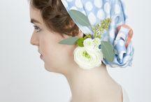 Spring / Summer Collection 2014 / studio nono Foulards for Spring Summer Season 2014. First Debut Collection. Photography Tanja Marotzke  Hair / Make-Up / Styling Hiroko Ito  Model Henrike