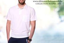 ULTIMATES-AUTHENTIC 2015 / Szabadidő ruházat, férfi ruházat, sportruházat. M-8XL. Leisure wear. clothing, polo, t-shirt,