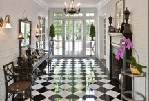 Checkerboard Floor / by Susan Seel