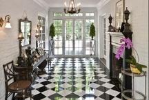 Checkerboard Floor / by Susan Seel