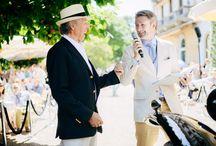 Concorso di Eleganza Villa D'Este 2014 / Simon Kidston, official speaker and World's most Important Collector Car Expert, wearing Larusmiani - courtesy of Jan Baedeker Classic Driver #larusmiani #villadeste2014