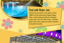 Pop Century Resort / One of 5 Value Resorts located in Walt Disney World.