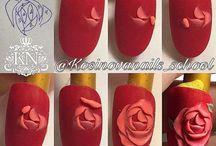 plastilina nails