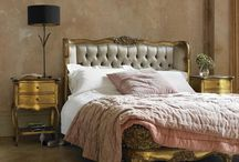 French bedroom / When you think of a 'French bedroom' you may associate it with a number of different themes such as glamorous, feminine, white, country, vintage or shabby chic. It truly is a very versatile style that you can make your own. Here are some ideas