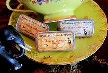 Perfume - Burlesque SteamPunk / Limited Edition Solid perfumes- perfect for some adventurous fun!