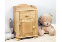 Bedside Tables / High Grade Quality Solid Wood Bedside Tables.
