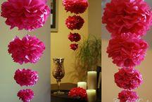 Wedding - Artificial blossoms