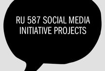 RU 587 Social Media Initiative Projects / Please post PDF of your papers and associated media here. (Create attractive images to function as covers.)