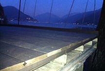 Pavimenti per esterni ( decking) / Immagini lavori realizzati di parquet esterni