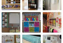 Organization-Home / by Lisa Jelle -Kaleidoscope Art&Gifts