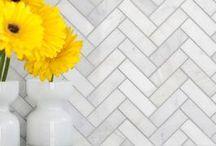 Välitila laatoitus / Kitchen and tiles