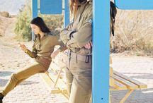 IDF girls in sandals
