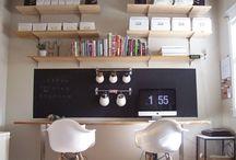 Office inspiration / Dream office inspiration