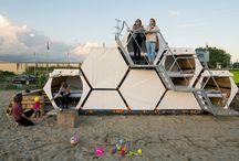 Design: Temp Recreational Structures