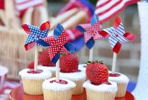 Celebrate the Red, White and Blue / by Julie V