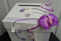 deco mariage orchidée