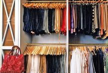 Closet Ideas / Closet organization ideas for men, women and children. Closet decor and design inspiration.