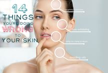 Beauty tips / What's Good/Bad for your Skin